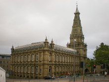 Halifax, Town Hall, West Yorkshire © Alexander P Kapp